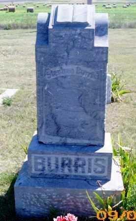 BURRIS, STEPHEN - Gove County, Kansas   STEPHEN BURRIS - Kansas Gravestone Photos