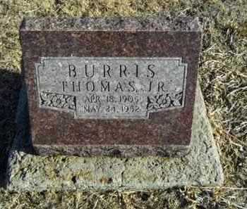 BURRIS, THOMAS, JR - Gove County, Kansas | THOMAS, JR BURRIS - Kansas Gravestone Photos