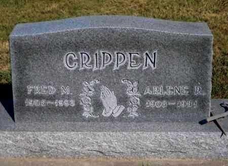 CRIPPEN, ARLENE ROSE - Gove County, Kansas | ARLENE ROSE CRIPPEN - Kansas Gravestone Photos