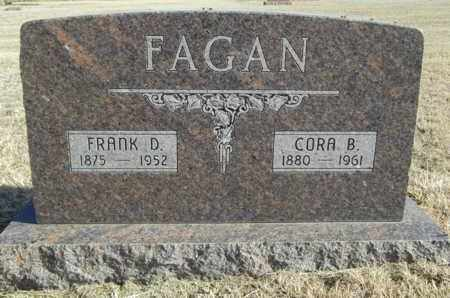 STULL FAGAN, CORA - Gove County, Kansas | CORA STULL FAGAN - Kansas Gravestone Photos