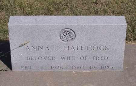 HATHCOCK, ANNA J - Gove County, Kansas   ANNA J HATHCOCK - Kansas Gravestone Photos