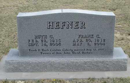 HEFNER, RUTH CAROLINE - Gove County, Kansas | RUTH CAROLINE HEFNER - Kansas Gravestone Photos