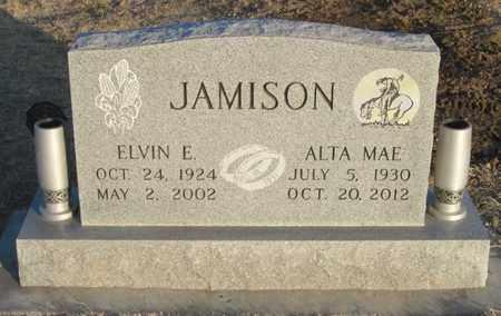 JAMISON, ELVIN  (VETERAN WWII) - Gove County, Kansas   ELVIN  (VETERAN WWII) JAMISON - Kansas Gravestone Photos