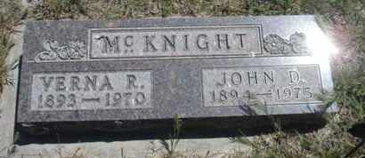 MCKNIGHT, JOHN DANIEL - Gove County, Kansas | JOHN DANIEL MCKNIGHT - Kansas Gravestone Photos