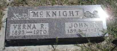 MCKNIGHT, VERNA RUTH - Gove County, Kansas | VERNA RUTH MCKNIGHT - Kansas Gravestone Photos