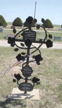 SHARED CEMETERY MARKER,  - Gove County, Kansas |  SHARED CEMETERY MARKER - Kansas Gravestone Photos