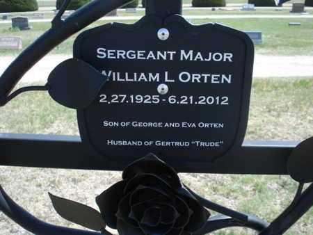 ORTEN, WILLIAM LEROY   (VETERAN 3 WARS) - Gove County, Kansas | WILLIAM LEROY   (VETERAN 3 WARS) ORTEN - Kansas Gravestone Photos