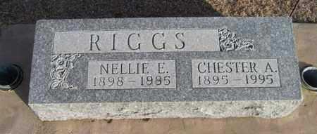 RIGGS, NELLIE E - Gove County, Kansas | NELLIE E RIGGS - Kansas Gravestone Photos