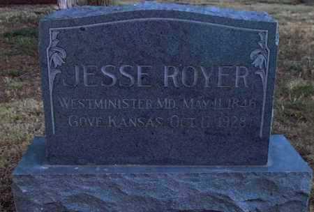 ROYER, JESSE - Gove County, Kansas   JESSE ROYER - Kansas Gravestone Photos