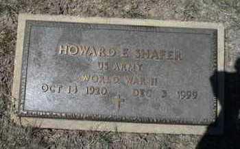 SHAFER, HOWARD E  (VETERAN WWII) - Gove County, Kansas | HOWARD E  (VETERAN WWII) SHAFER - Kansas Gravestone Photos