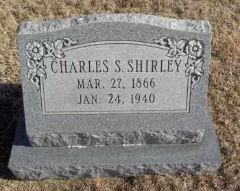 SHIRLEY, CHARLES S - Gove County, Kansas | CHARLES S SHIRLEY - Kansas Gravestone Photos