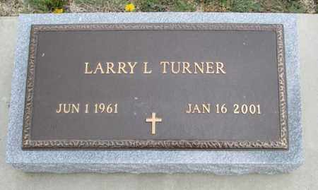TURNER, LARRY LEE - Gove County, Kansas | LARRY LEE TURNER - Kansas Gravestone Photos