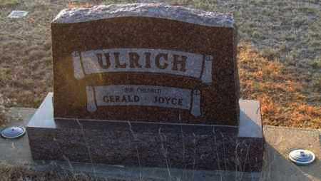 ULRICH STONE, BACK OF STONE - Gove County, Kansas | BACK OF STONE ULRICH STONE - Kansas Gravestone Photos
