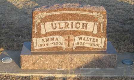 ULRICH, EMMA - Gove County, Kansas | EMMA ULRICH - Kansas Gravestone Photos