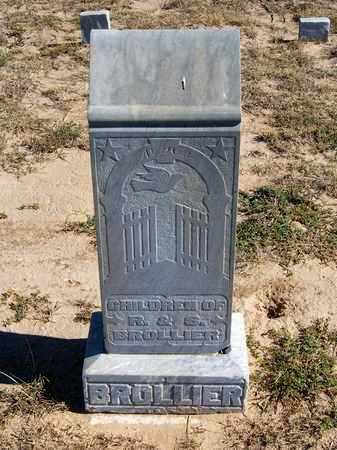 BROLLIER, ELLA J - Grant County, Kansas | ELLA J BROLLIER - Kansas Gravestone Photos