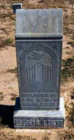 BROLLIER, FAMILY STONE - Grant County, Kansas | FAMILY STONE BROLLIER - Kansas Gravestone Photos