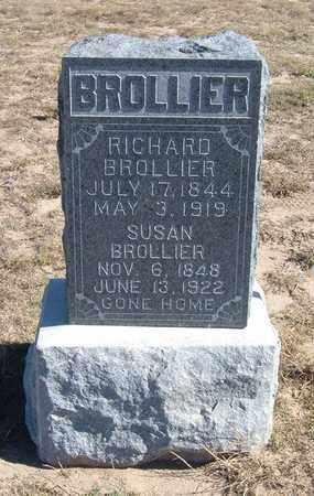 BROLLIER, SUSAN - Grant County, Kansas | SUSAN BROLLIER - Kansas Gravestone Photos