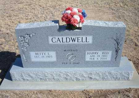 "CALDWELL, HARRY ""RED"" - Grant County, Kansas | HARRY ""RED"" CALDWELL - Kansas Gravestone Photos"