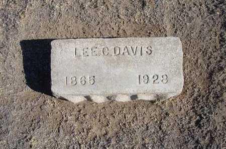 DAVIS, LEE C - Grant County, Kansas | LEE C DAVIS - Kansas Gravestone Photos