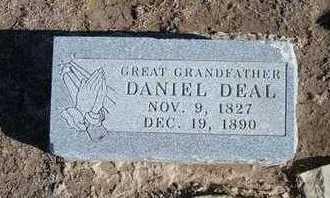 DEAL, DANIEL   (VETERAN CSA) - Grant County, Kansas | DANIEL   (VETERAN CSA) DEAL - Kansas Gravestone Photos