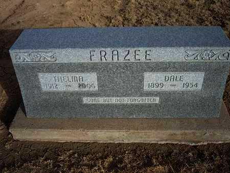 FRAZEE, THELMA - Grant County, Kansas | THELMA FRAZEE - Kansas Gravestone Photos