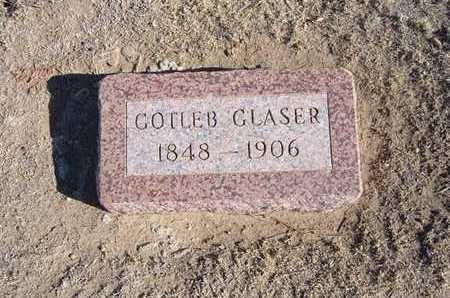 GLASER, GOTLEB - Grant County, Kansas   GOTLEB GLASER - Kansas Gravestone Photos
