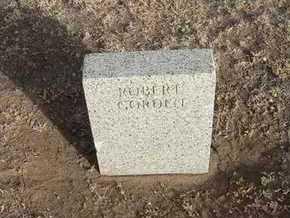 GORDON, ROBERT - Grant County, Kansas | ROBERT GORDON - Kansas Gravestone Photos