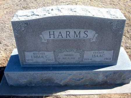 HARMS, EMMA C - Grant County, Kansas   EMMA C HARMS - Kansas Gravestone Photos