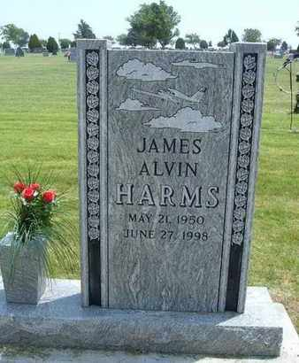 HARMS, JAMES ALVIN - Grant County, Kansas | JAMES ALVIN HARMS - Kansas Gravestone Photos