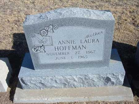 HOFFMAN, ANNIE LAURA - Grant County, Kansas | ANNIE LAURA HOFFMAN - Kansas Gravestone Photos