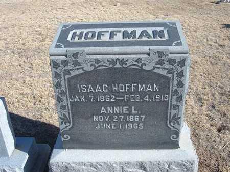 HOFFMAN, ANNIE LAURA - Grant County, Kansas   ANNIE LAURA HOFFMAN - Kansas Gravestone Photos