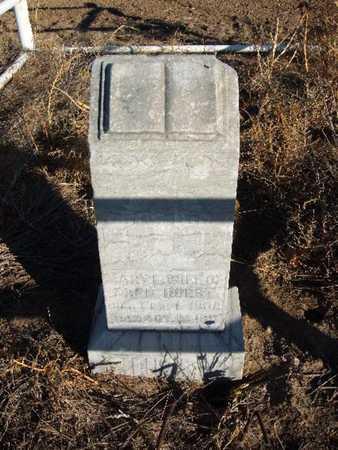 HURST, MARY E - Grant County, Kansas   MARY E HURST - Kansas Gravestone Photos