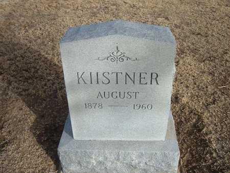 KIISTER, AUGUST - Grant County, Kansas | AUGUST KIISTER - Kansas Gravestone Photos