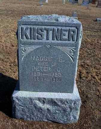 KIISTNER, PETER C - Grant County, Kansas | PETER C KIISTNER - Kansas Gravestone Photos