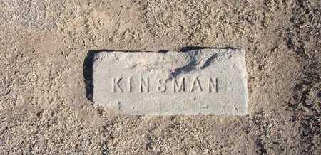 KINSMAN, INFANT - Grant County, Kansas   INFANT KINSMAN - Kansas Gravestone Photos