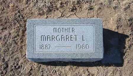 LEIGH, MARGARET - Grant County, Kansas | MARGARET LEIGH - Kansas Gravestone Photos