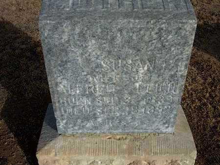 LEIGH, SUSAN - Grant County, Kansas | SUSAN LEIGH - Kansas Gravestone Photos