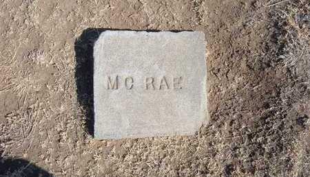 MCRAE, WILLIAM FFLOYD - Grant County, Kansas | WILLIAM FFLOYD MCRAE - Kansas Gravestone Photos