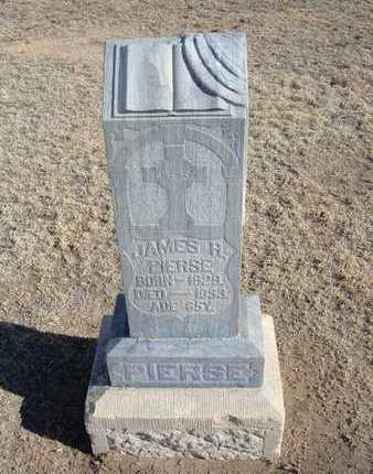 PIERSE, JAMES H - Grant County, Kansas | JAMES H PIERSE - Kansas Gravestone Photos