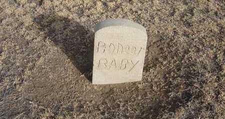 PIONEER, BABY - Grant County, Kansas | BABY PIONEER - Kansas Gravestone Photos