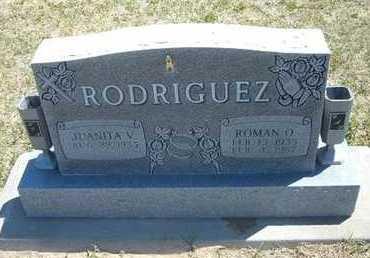RODRIGUEZ, ROMAN O - Grant County, Kansas | ROMAN O RODRIGUEZ - Kansas Gravestone Photos