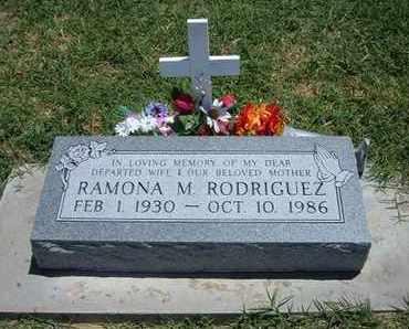 RODRIGUEZ, RAMONA M - Grant County, Kansas | RAMONA M RODRIGUEZ - Kansas Gravestone Photos