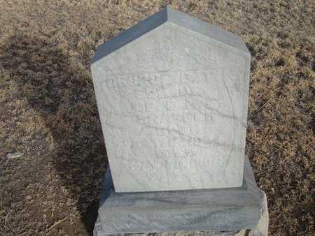 SHAFFER, GEORGE B T - Grant County, Kansas | GEORGE B T SHAFFER - Kansas Gravestone Photos