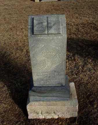 SWINNEY, HANNAH J - Grant County, Kansas   HANNAH J SWINNEY - Kansas Gravestone Photos