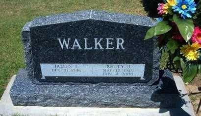 WALKER, BETTY JANE - Grant County, Kansas   BETTY JANE WALKER - Kansas Gravestone Photos