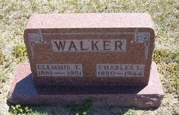 WALKER, CLEMMIE TABITHA - Grant County, Kansas | CLEMMIE TABITHA WALKER - Kansas Gravestone Photos
