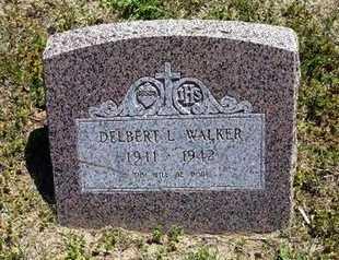 WALKER, DELBERT L - Grant County, Kansas   DELBERT L WALKER - Kansas Gravestone Photos