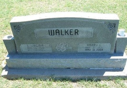 WALKER, HARRY C - Grant County, Kansas | HARRY C WALKER - Kansas Gravestone Photos