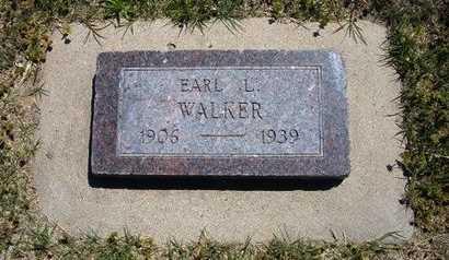 WALKER, EARL L - Grant County, Kansas   EARL L WALKER - Kansas Gravestone Photos