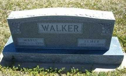 WALKER, ELMER - Grant County, Kansas | ELMER WALKER - Kansas Gravestone Photos